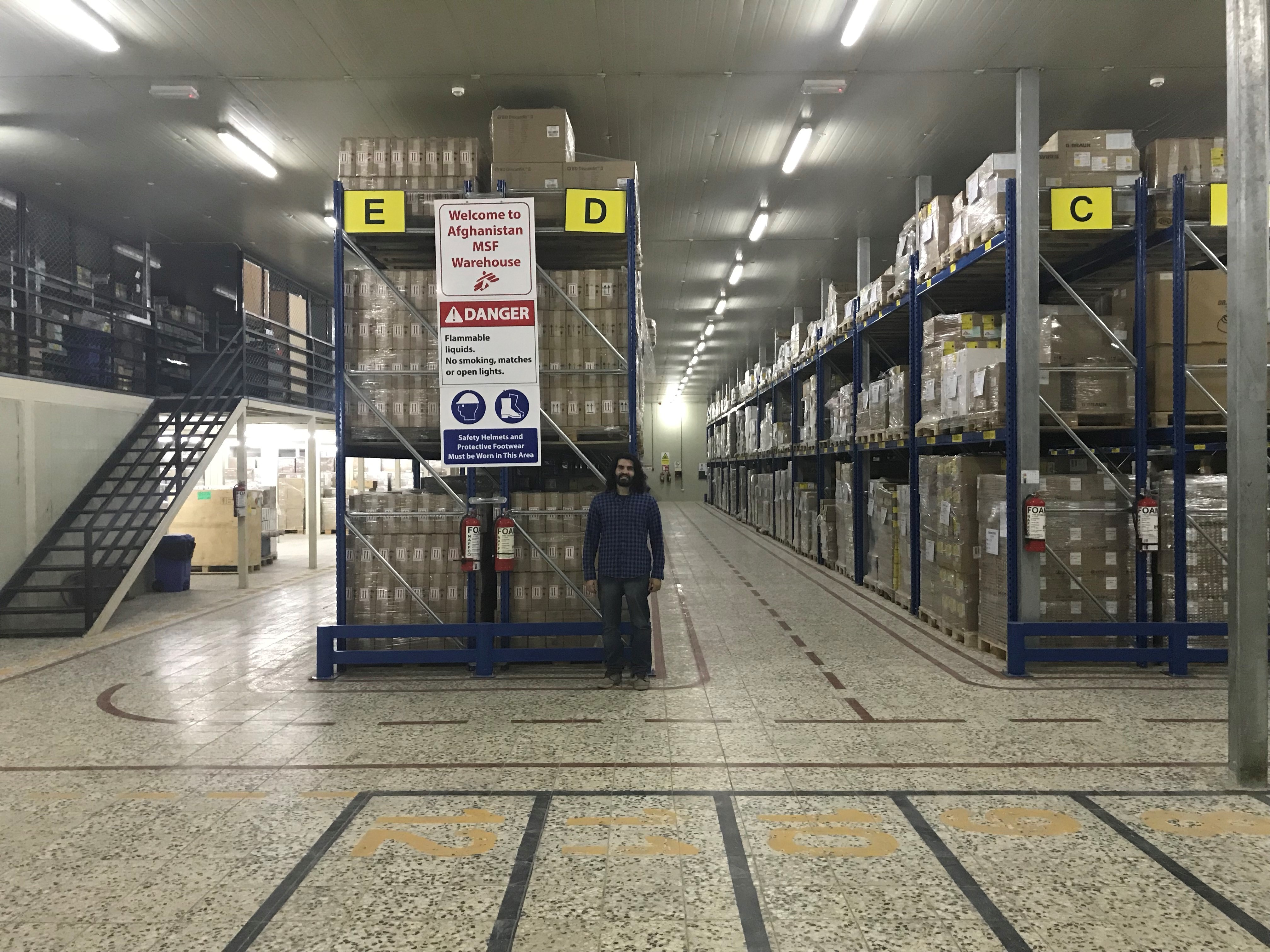 O trabalho invisível e imprescindível da cadeia de suprimentos