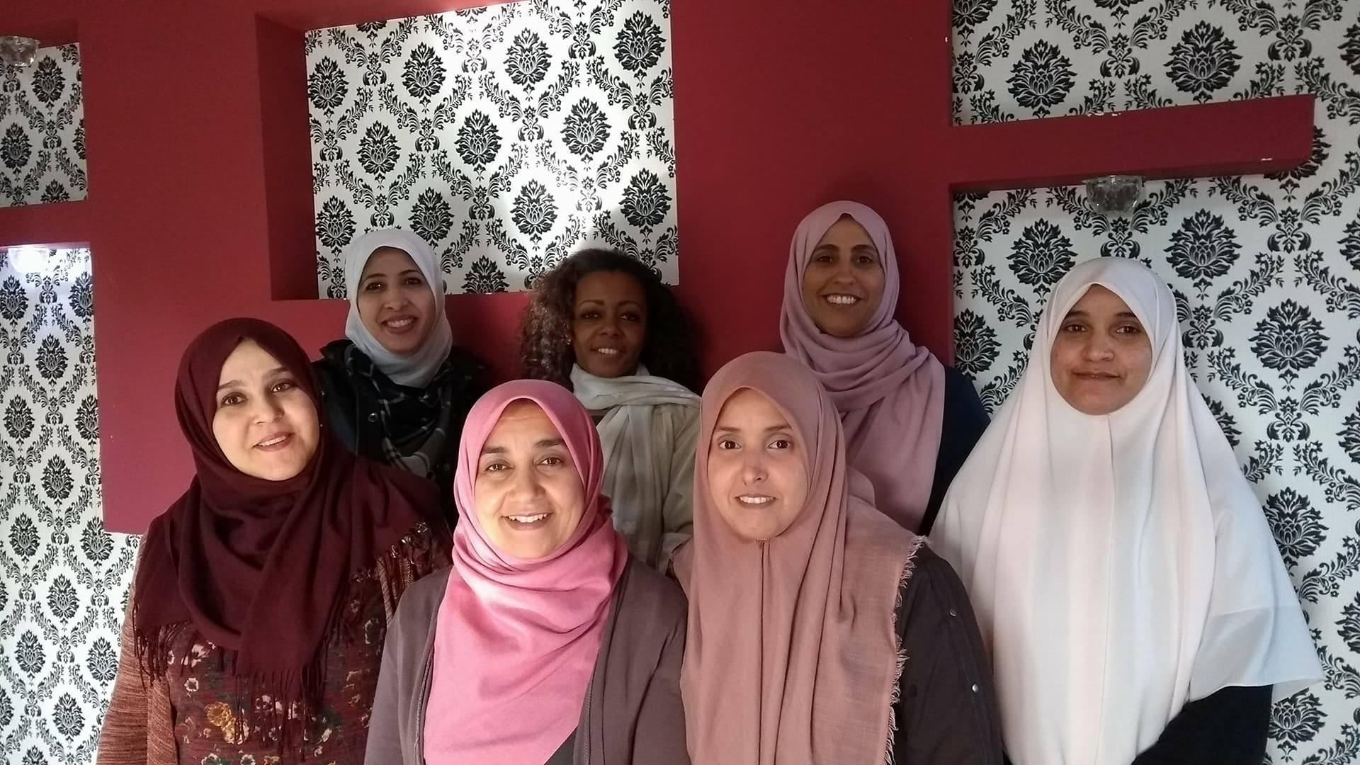 Cuidados em saúde mental para mães e crianças na Líbia