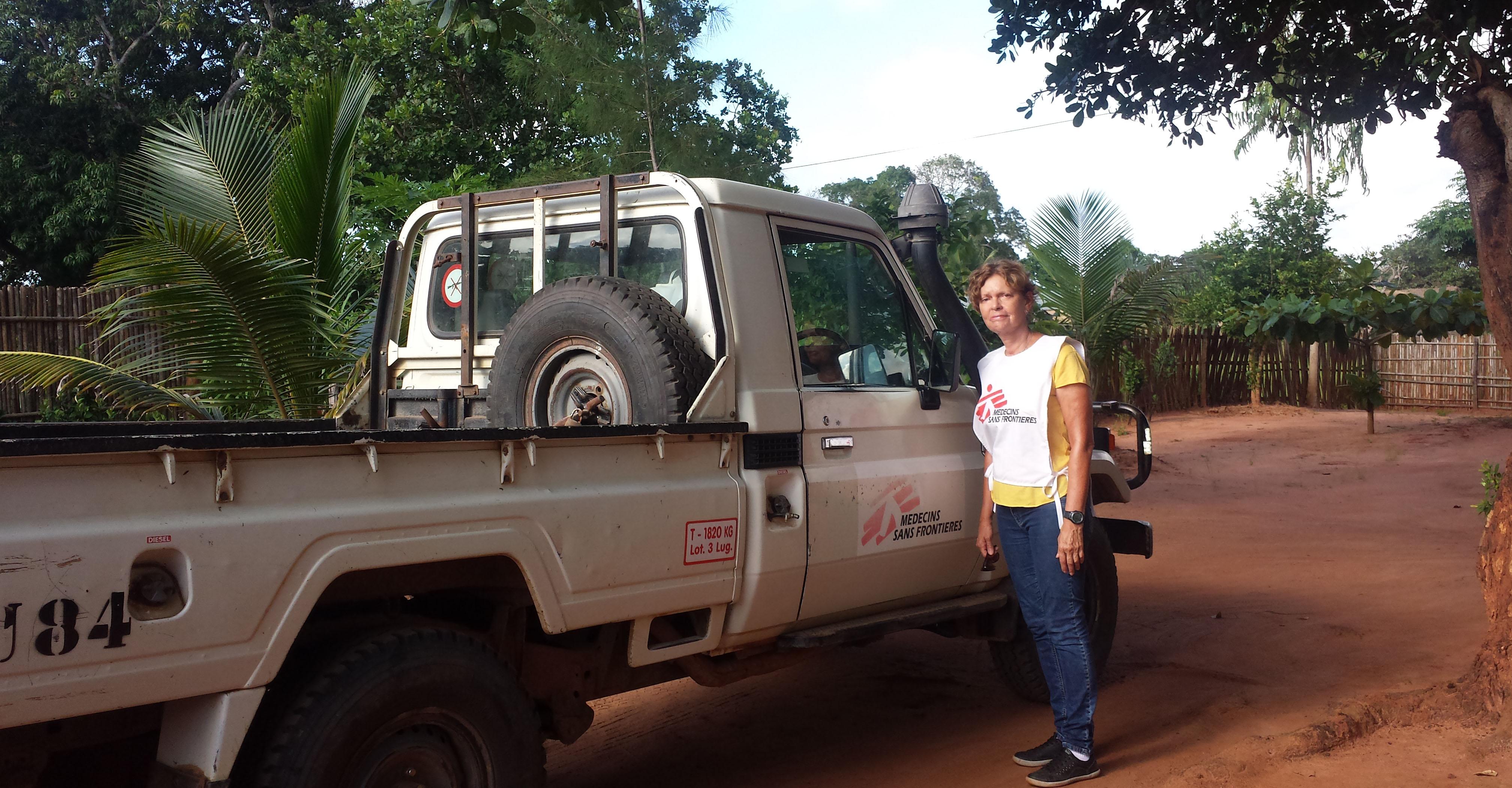 Tratando a cólera em Moçambique