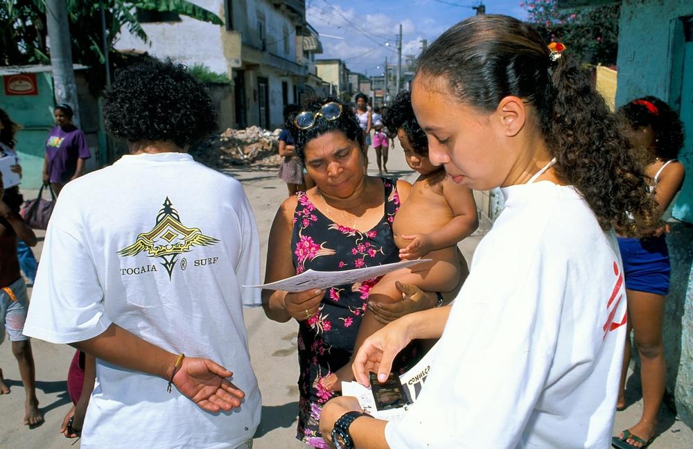Prevenção de DST e Aids no Rio