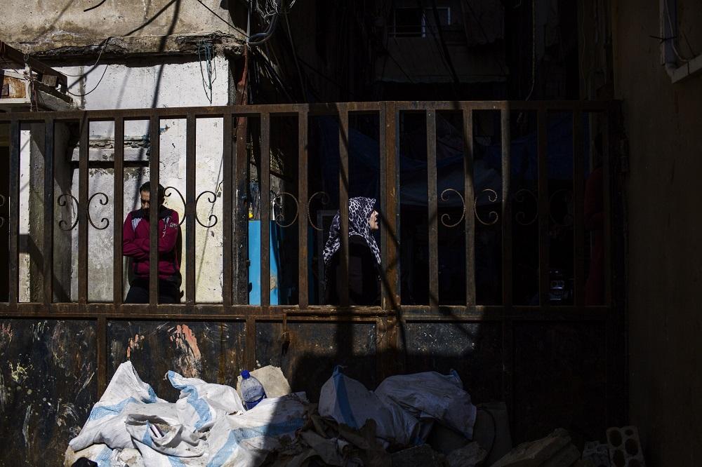 Uma psicóloga em um campo de refugiados no Líbano
