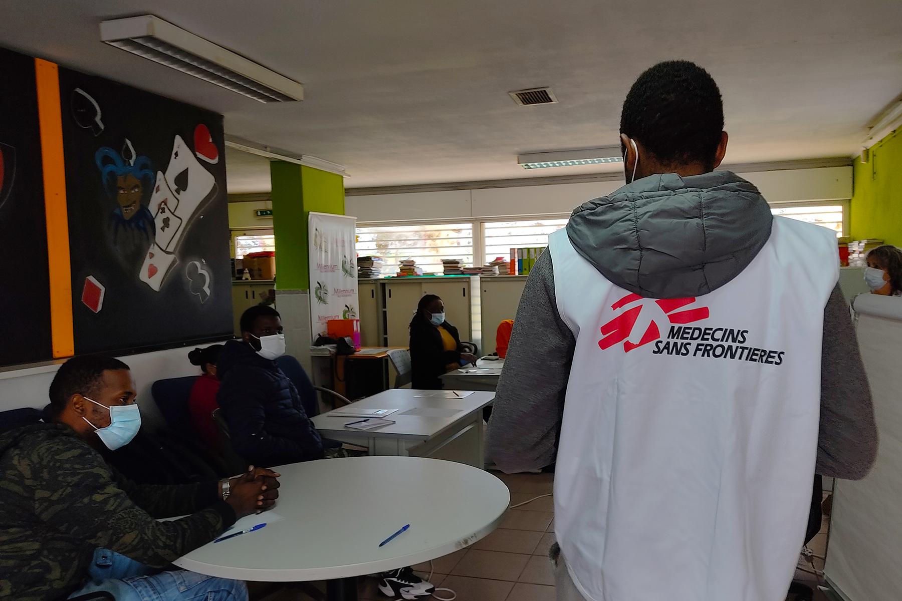 COVID-19: ação MSF em bairros vulneráveis em Portugal