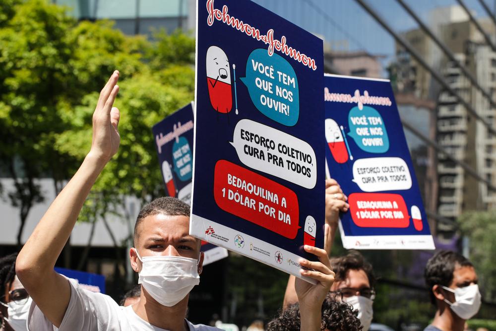 MSF lança campanha global para a Johnson & Johnson reduzir o preço de medicamento contra tuberculose