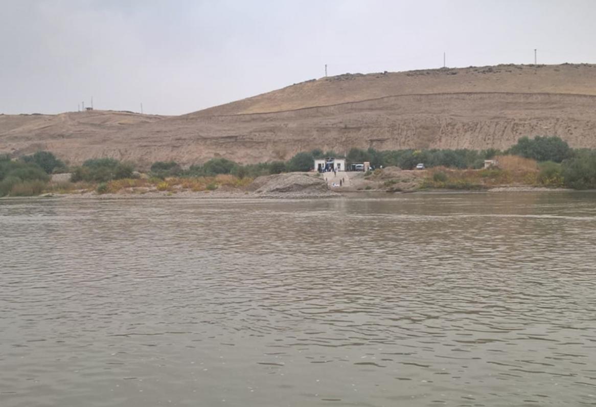 Fronteira entre Síria e Curdistão iraquiano