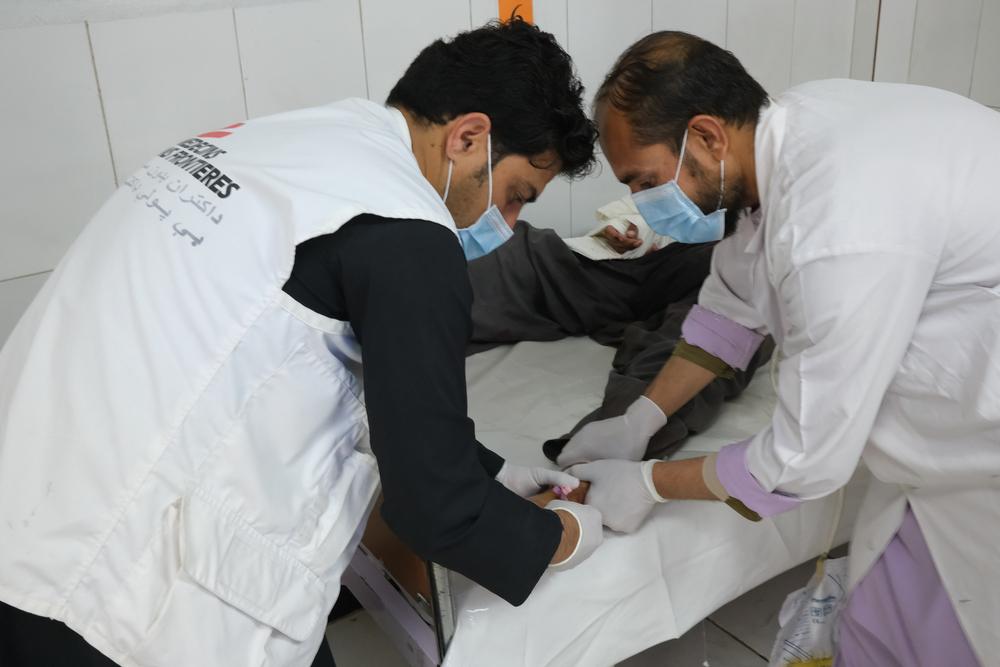 """Lashkar Gah, Afeganistão: """"Em apenas um dia, realizamos 10 cirurgias em pessoas feridas pela violência"""""""