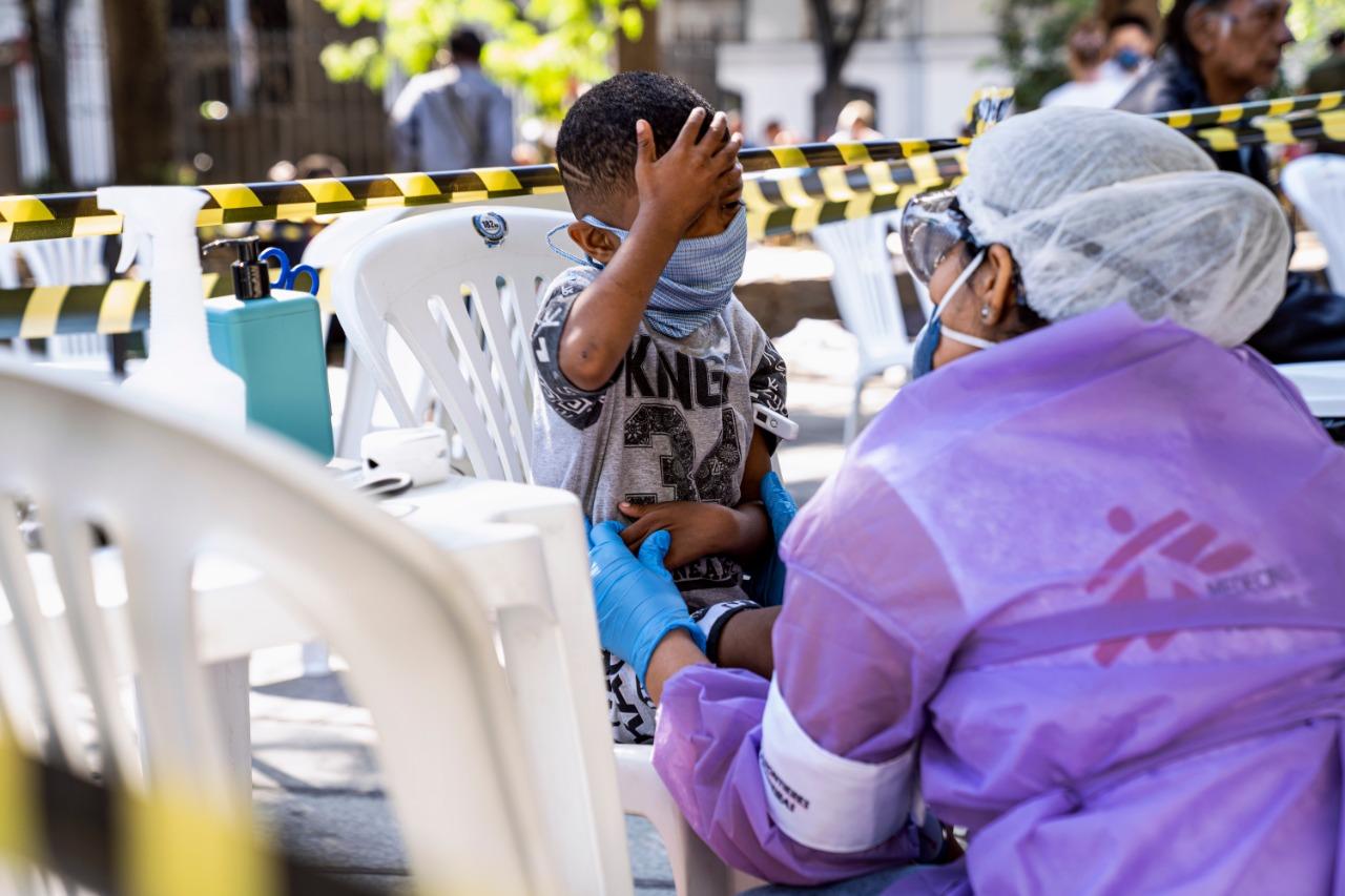 5 vídeos mais assistidos sobre a atuação de MSF durante a pandemia de COVID-19