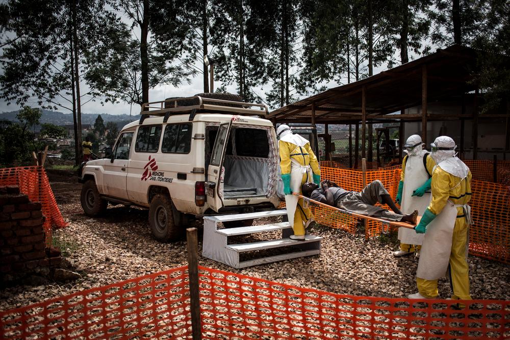 RDC: A resposta ao Ebola não consegue superar o crescimento da epidemia