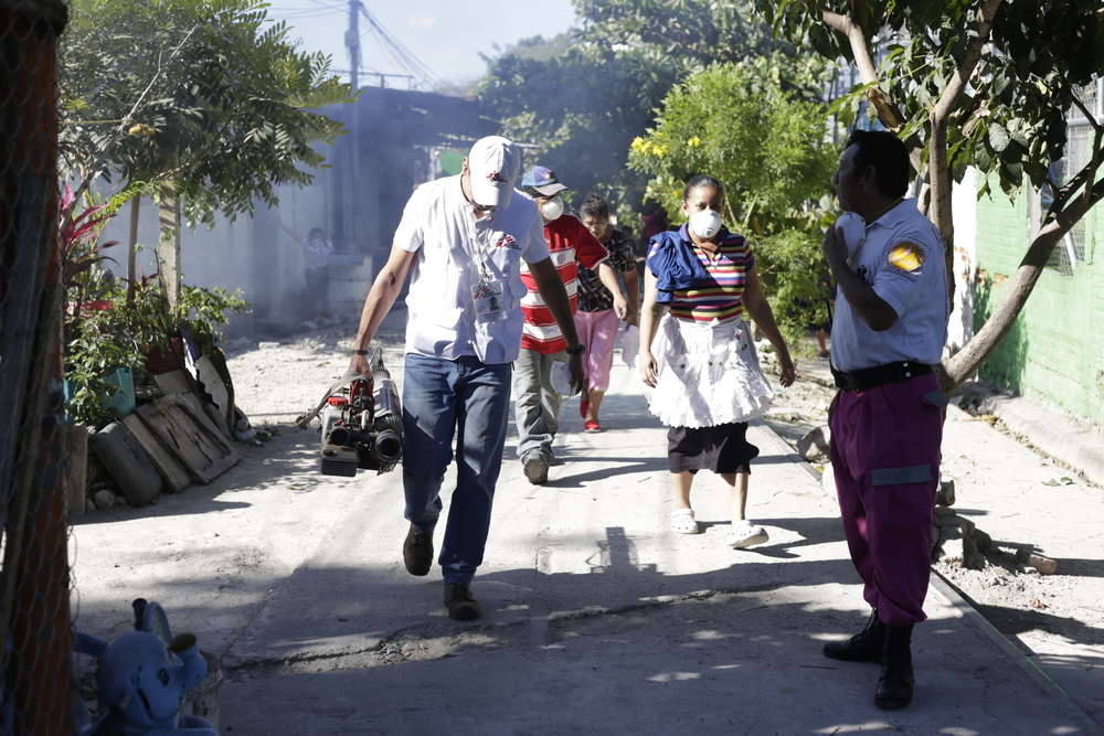 MSF participa de comitês de saúde em El Salvador