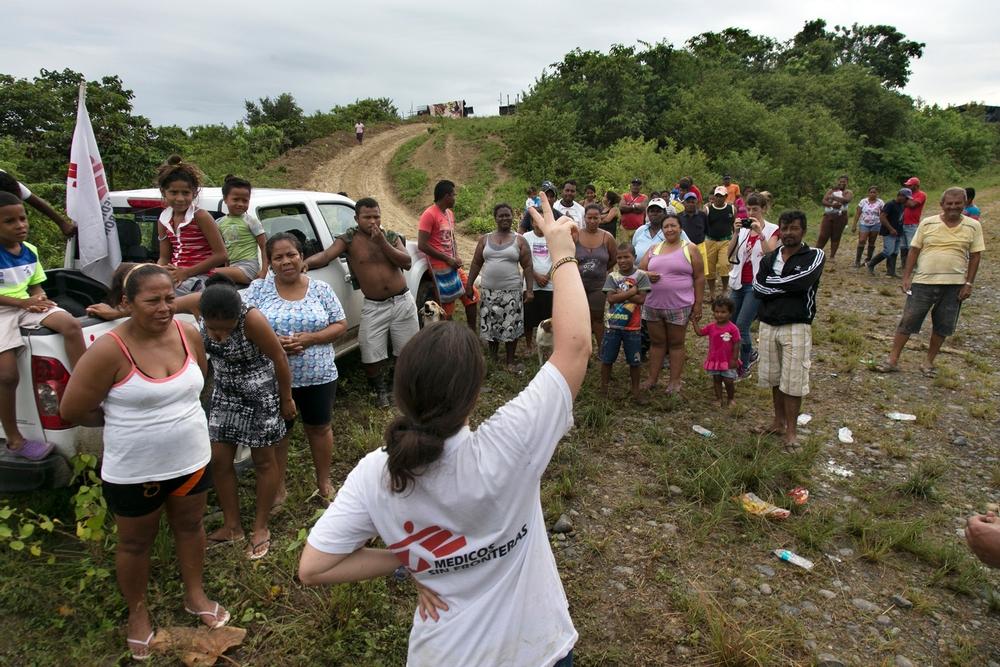 Terremoto no Equador: após um mês, MSF encerra atividades