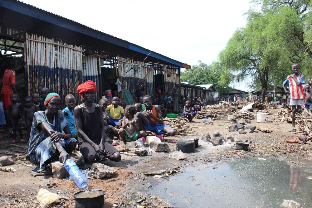Refugiados do Sudão do Sul   Centro de Recepção Pagak
