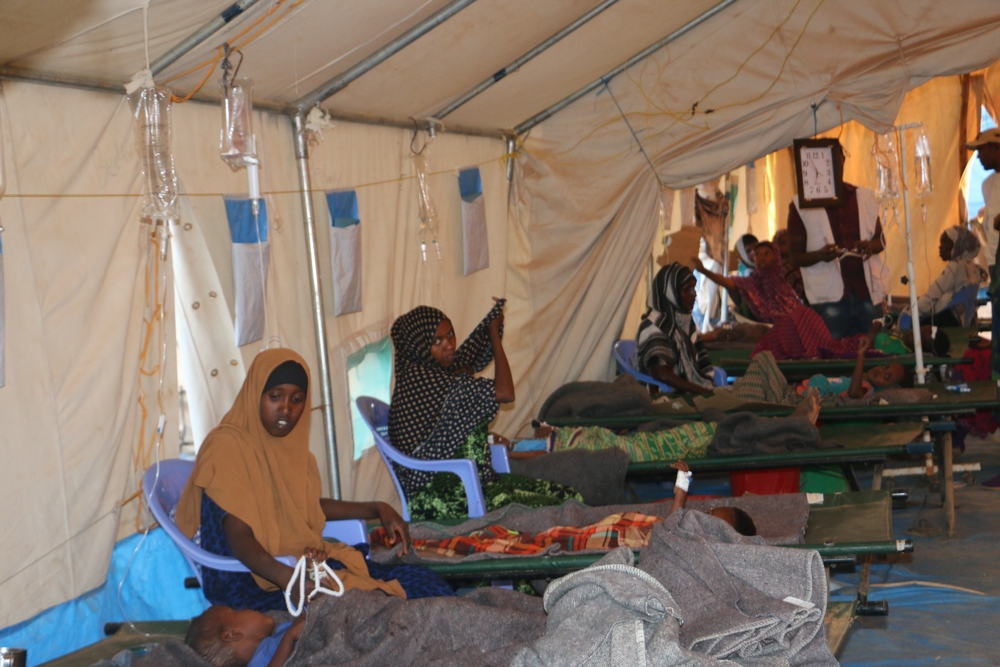 Etiópia: combatendo a diarreia aquosa aguda