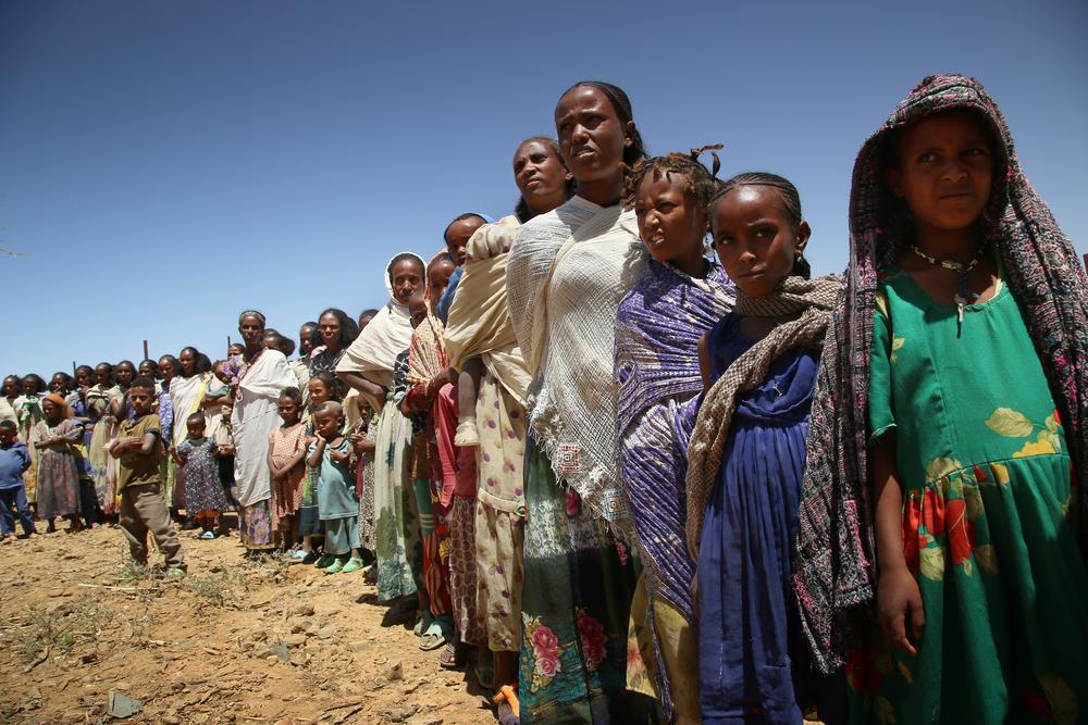 Na Etiópia, Médicos Sem Fronteiras (MSF) responde a emergências e preenche lacunas na saúde para pessoas deslocadas internamente e refugiados. A partir de novembro de 2020, ajudamos as pessoas afetadas pelos combates na região de Tigray. (Foto: Igor Barbero)