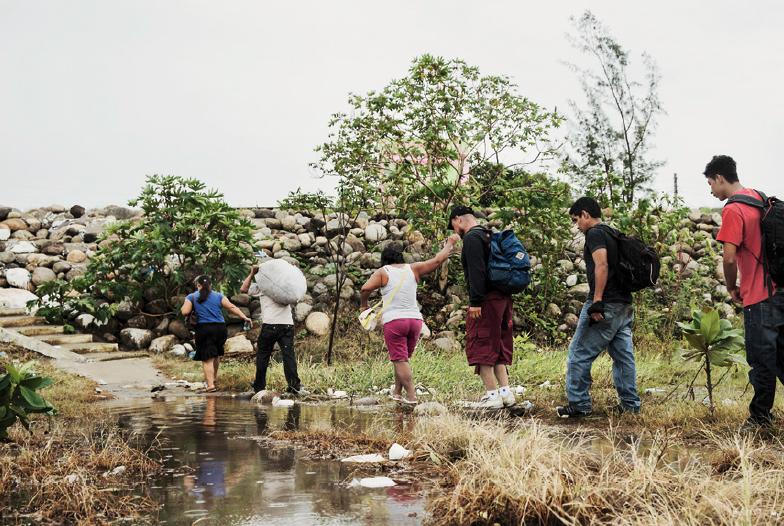 Forçados a Fugir do Triângulo Norte da América Central