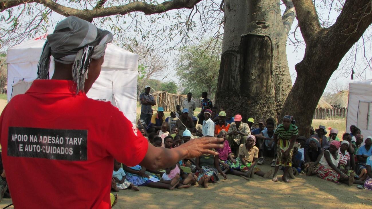 Moçambique: aconselhamento reforça adesão ao tratamento de HIV