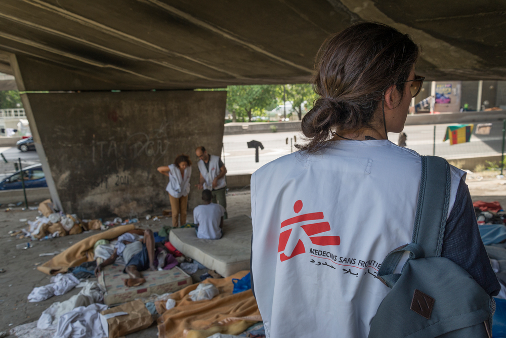 França: situação de refugiados em Paris é crítica