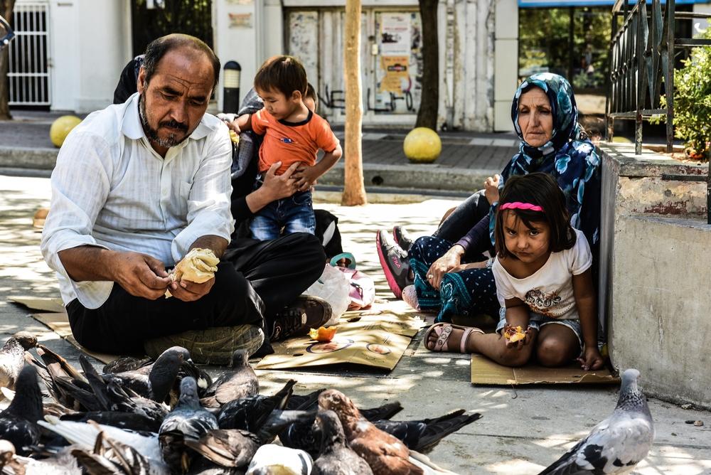 Grécia em 2016: pessoas vulneráveis deixadas para trás