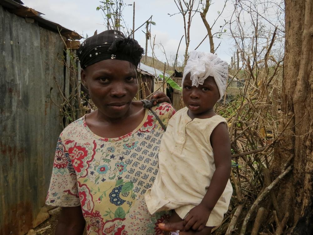 Haiti: estado de saúde de crianças, mulheres e homens se deteriora em áreas afetadas pelo furacão