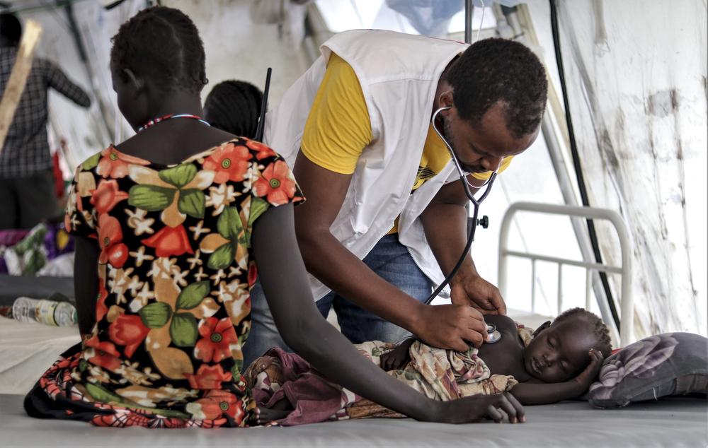 Sudão do Sul: é urgente uma campanha de vacinação para impedir a propagação do sarampo