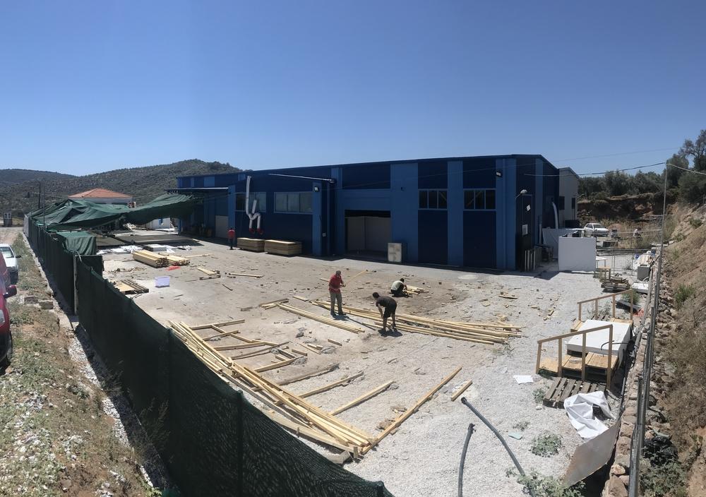 Grécia: MSF é forçada a fechar o centro de COVID-19 em Lesbos