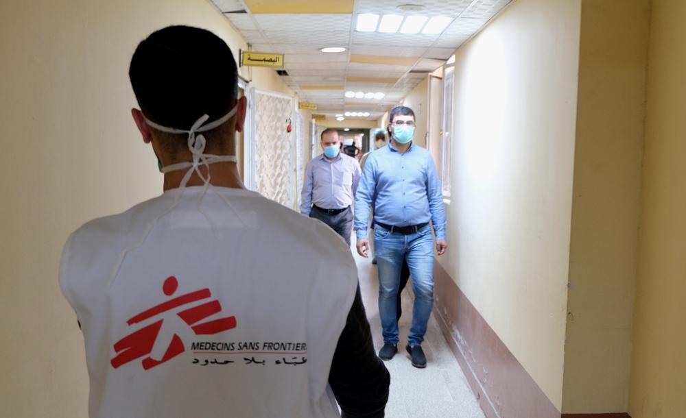 MSF apoia hospitais iraquianos que respondem à COVID-19