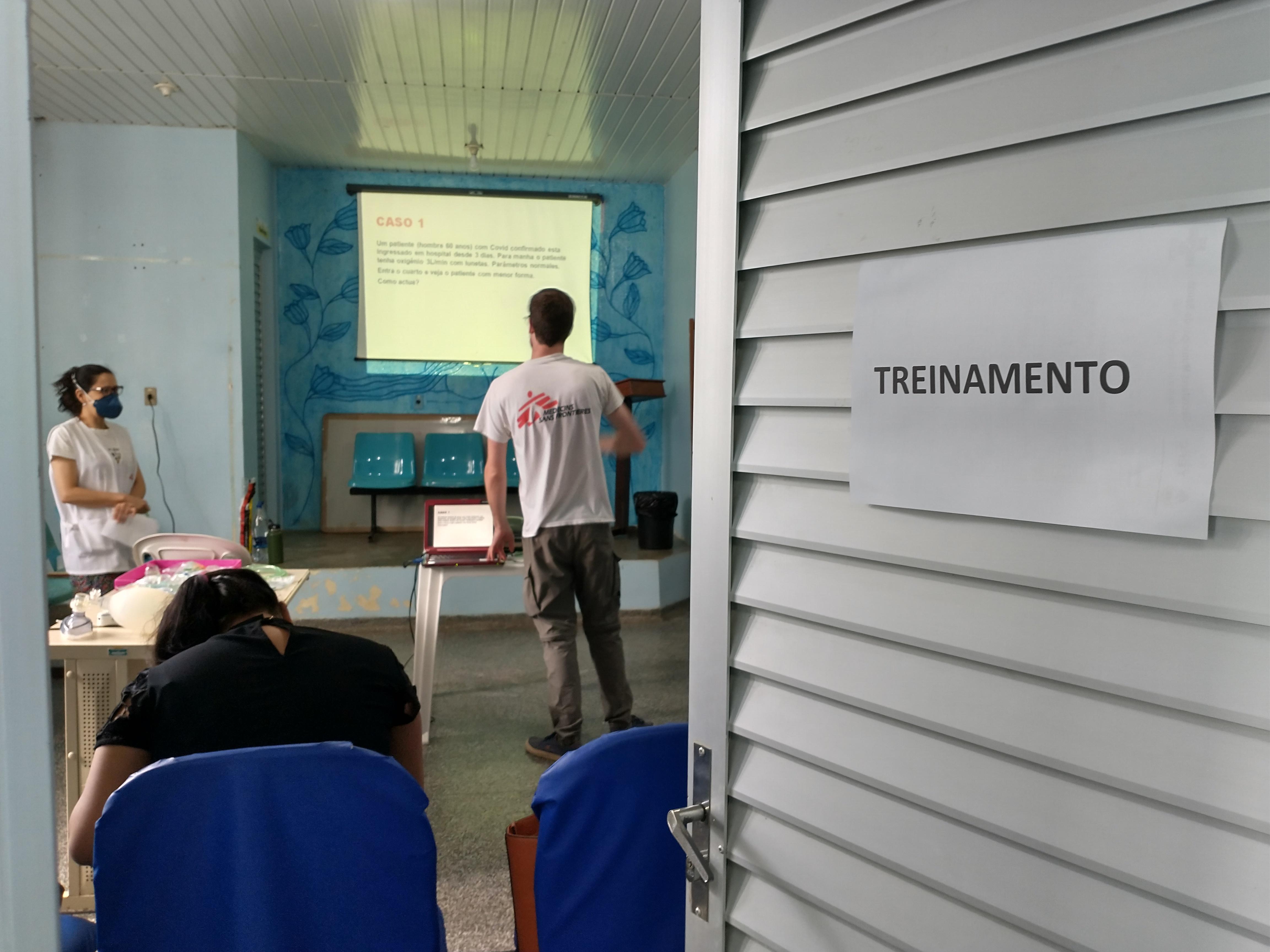 Médicos Sem Fronteiras começa atividades contra a COVID-19 em Tefé, no Amazonas