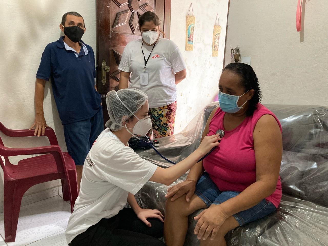 MSF inicia apoio ao sistema de saúde de Fortaleza na resposta à COVID-19