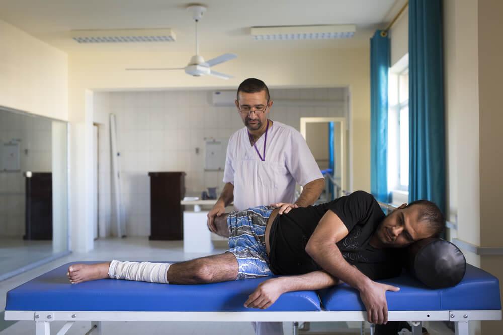 Iraque: ajudando vítimas de guerra a se recuperarem