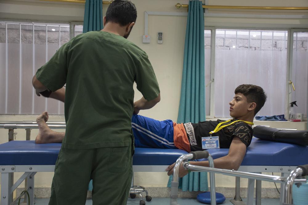 Reconstruindo vidas quebradas: MSF trata manifestantes feridos em Bagdá