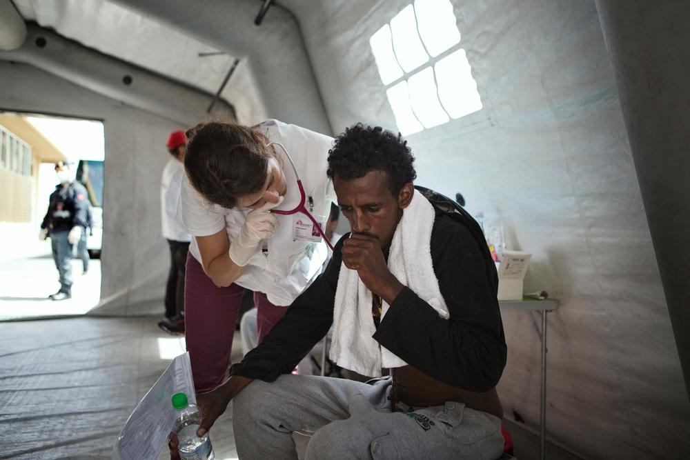 A batalha de eritreus em busca de segurança
