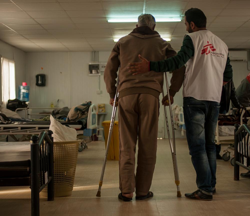Jordânia: MSF fecha clínica para feridos de guerra sírios