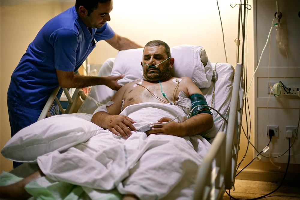 MSF pede evacuação médica de feridos de guerra sírios pelo norte da Jordânia