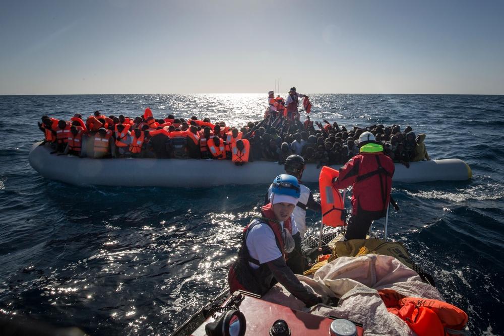 União Européia e política migratória