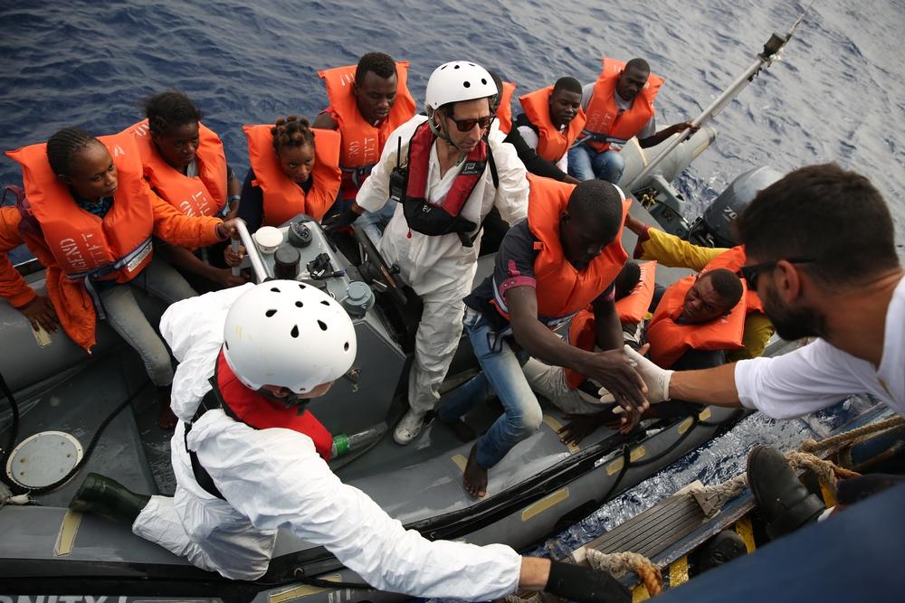 """MSF: """"Testemunhamos um outubro cheio de sofrimento no mar"""""""