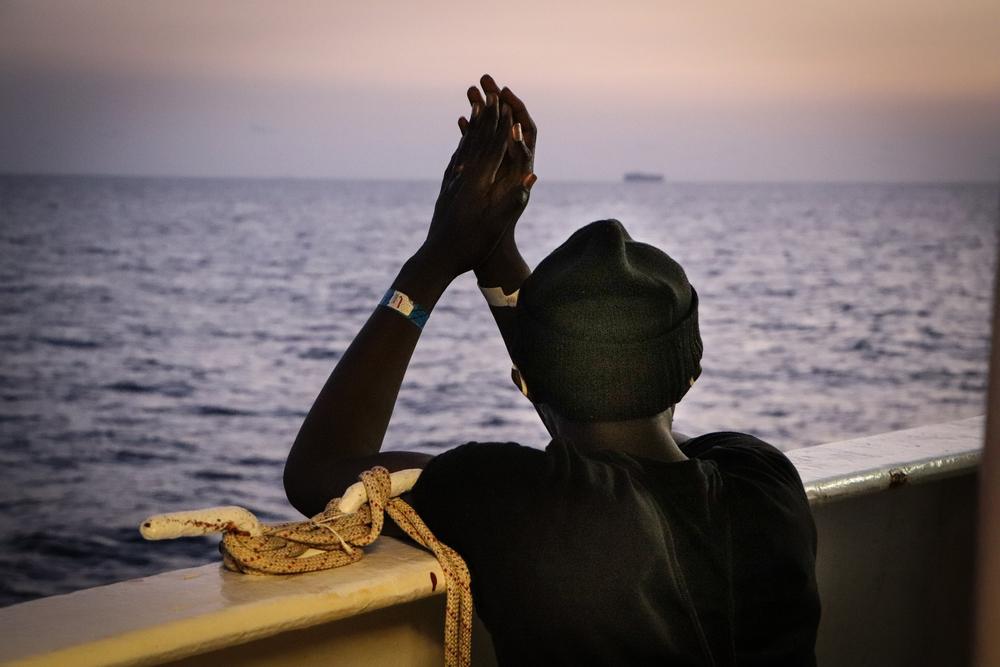 Histórias de sofrimento de migrantes reforçam importância das operações de Sea-Watch 4