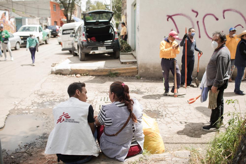 """""""O medo ainda é a emoção predominante na Cidade do México"""""""