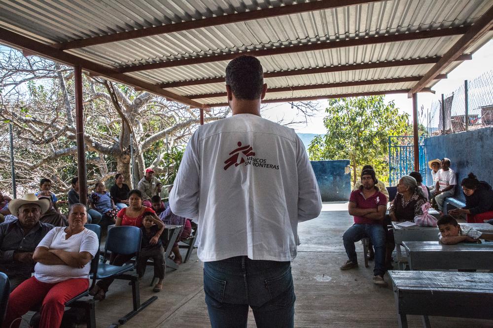 México: MSF intensifica ajuda médica no estado de Guerrero