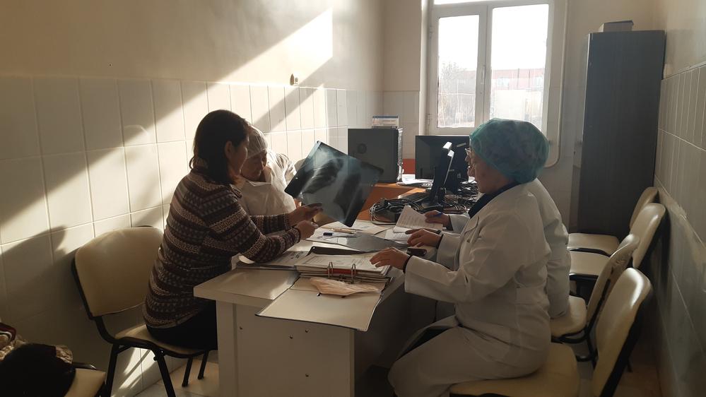 Projeto de Tuberculose de MSF (Foto: MSF/Gulziyra Nurullaeva)