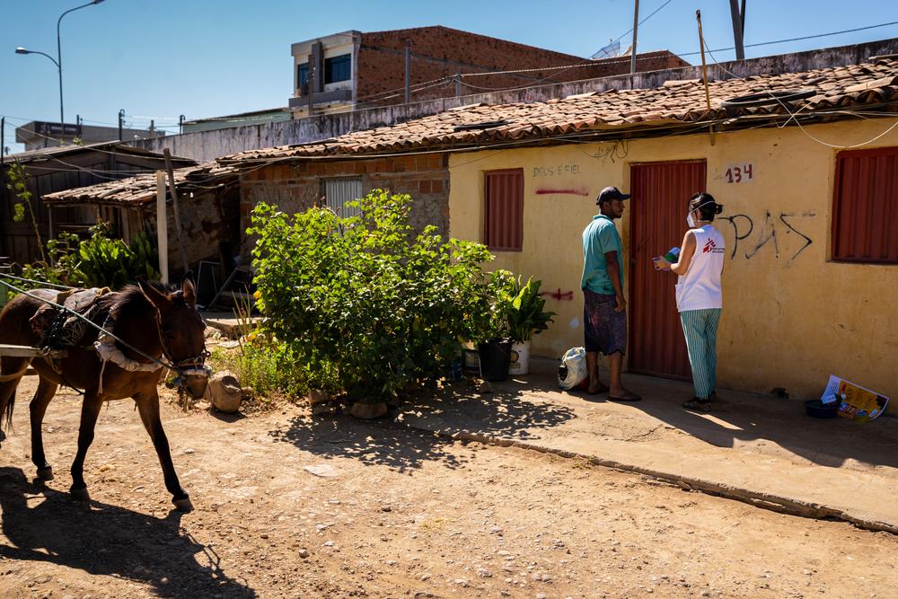 Em meio à situação grave e ameaça de terceira onda, MSF reforça ações no Brasil