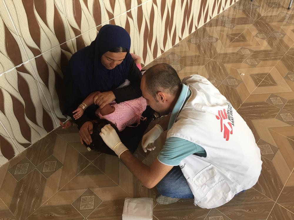 Iraque: cuidados médicos em frentes de batalha