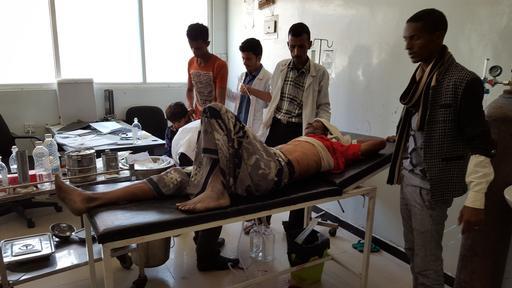 Investigação de ataque a instalação de saúde em Taiz
