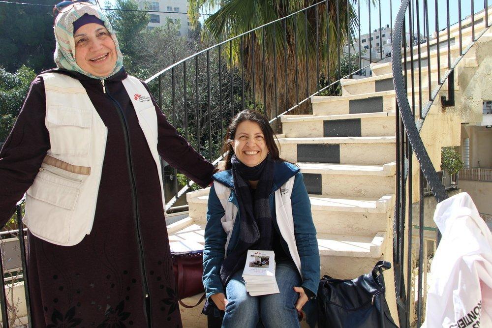 Apoio remoto à saúde mental durante a COVID-19 na Palestina