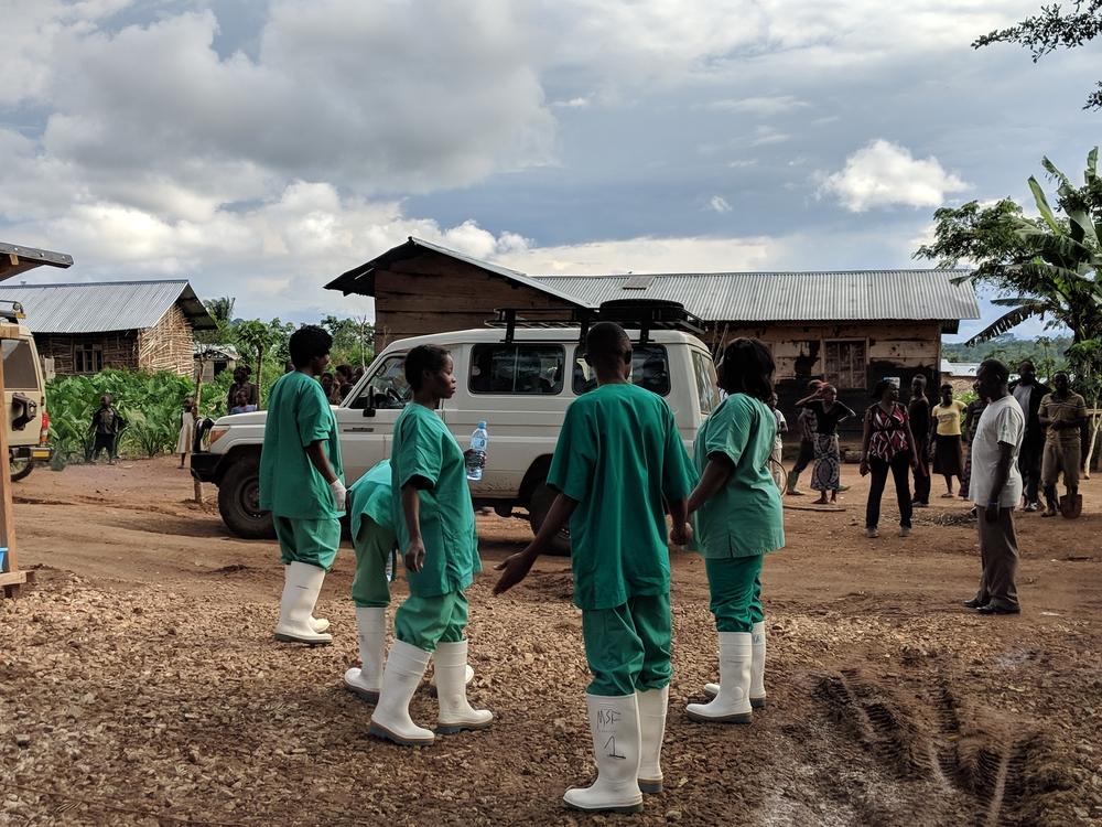 Kivu do Norte, RDC: MSF trata 65 pacientes de Ebola no primeiro mês