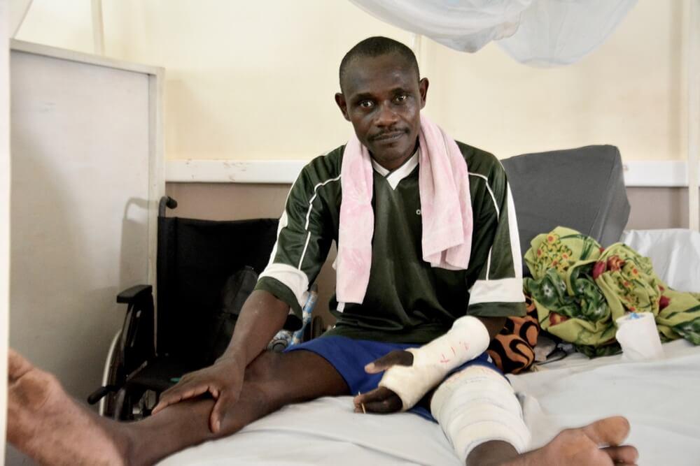 Restaurando o corpo e a mente: fisioterapia no hospital SICA, na República Centro-Africana