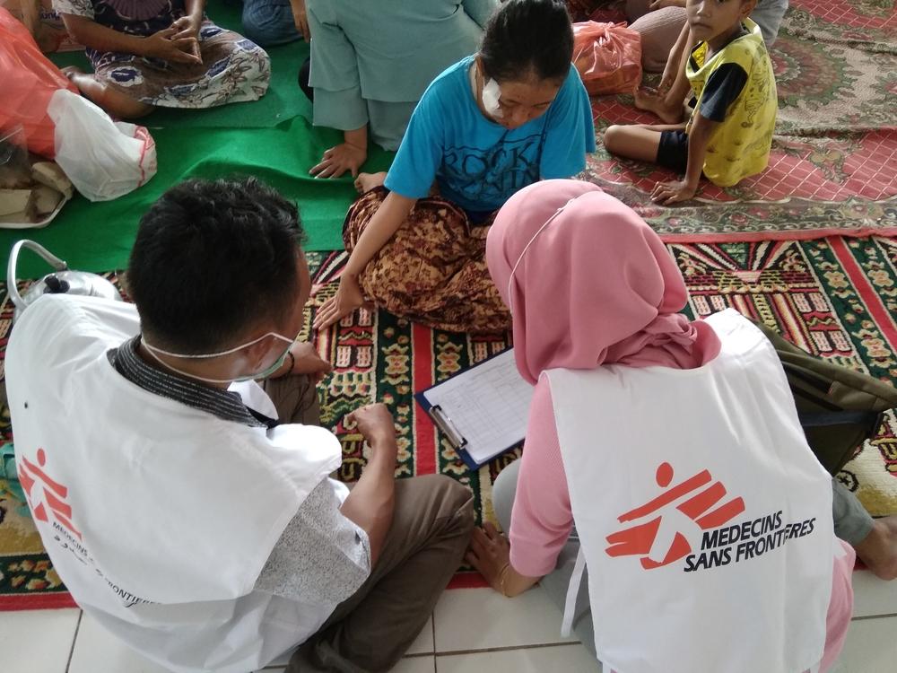 Tsunami na Indonésia: MSF dá continuidade à sua resposta enquanto número de feridos aumenta