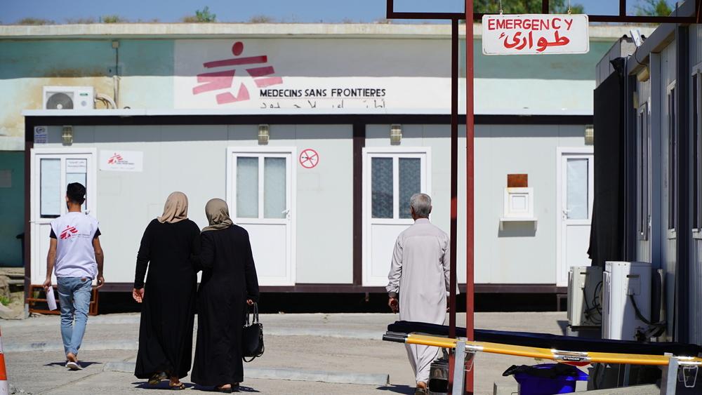 Iraque: MSF tratou mais de 67 mil casos de emergência em 4 anos no hospital em Qayyarah