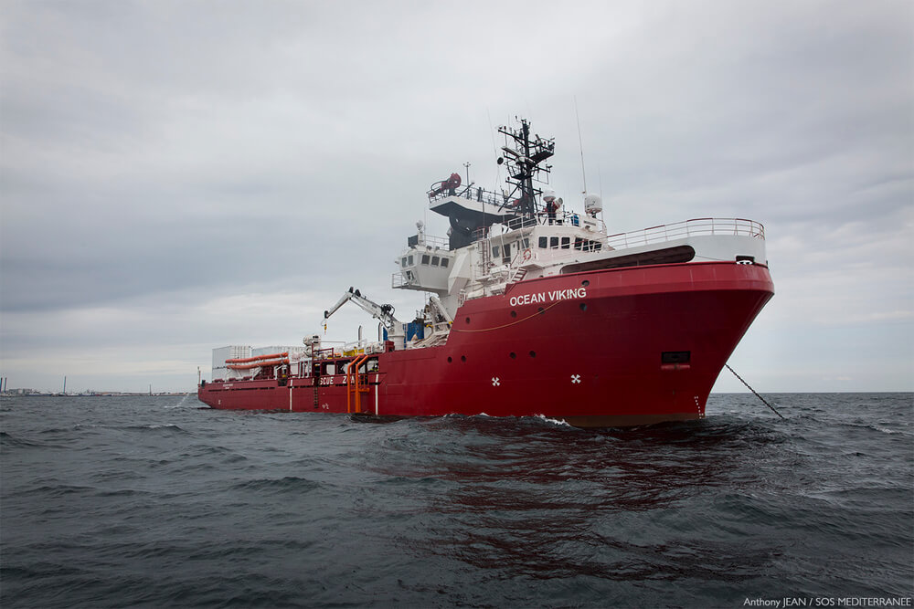 MSF retoma as operações de busca e salvamento com o navio Ocean Viking