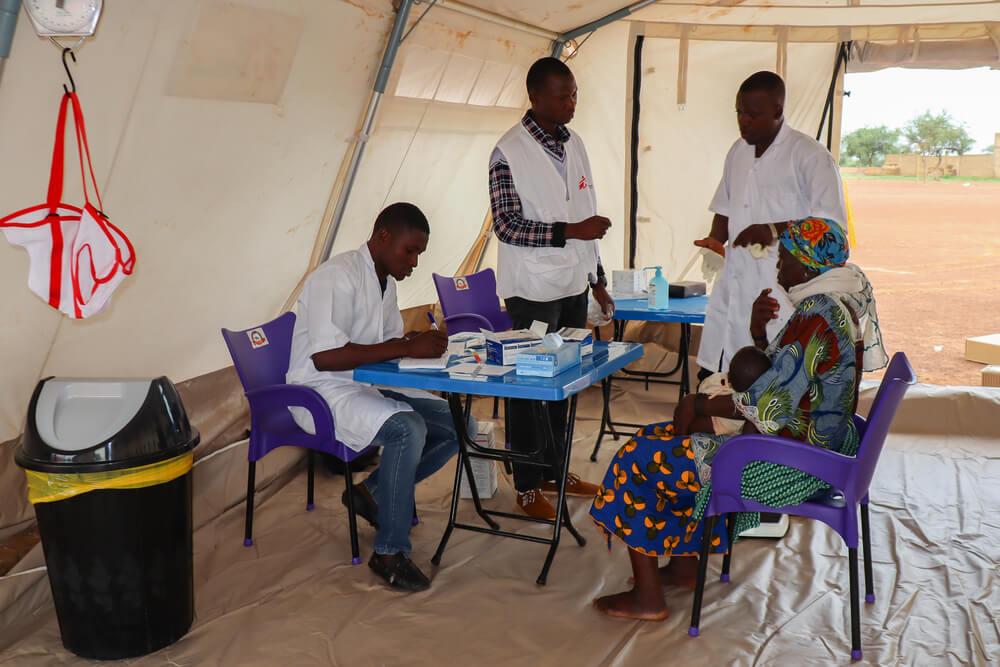 MSF amplia assistência a vítimas de violência em Burkina Faso