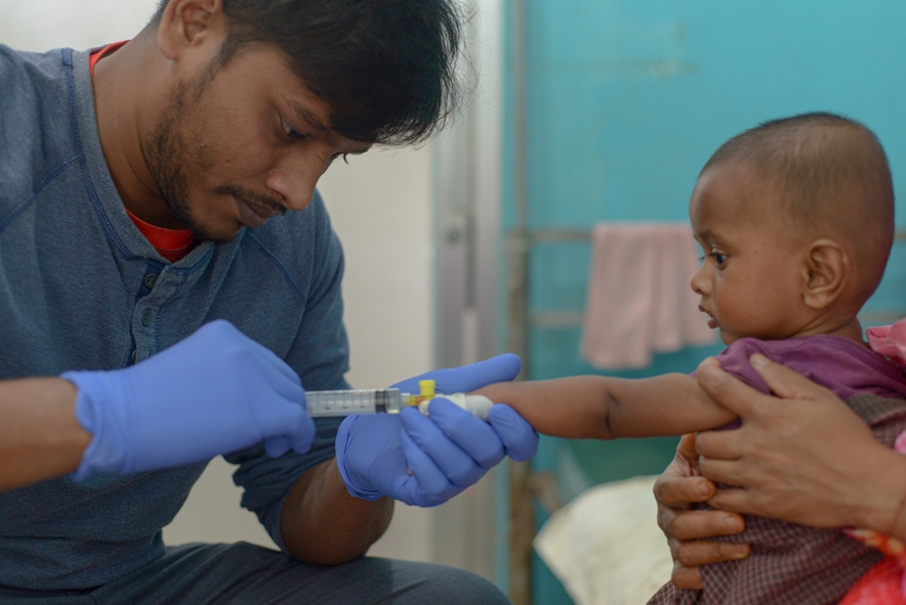 MSF enfrenta surto de sarampo no maior campo de refugiados do mundo