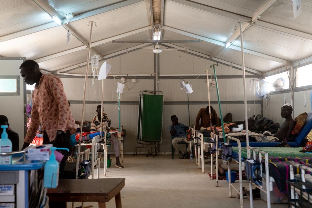Confrontos provocam influxo em massa de feridos e deslocados no Sudão do Sul