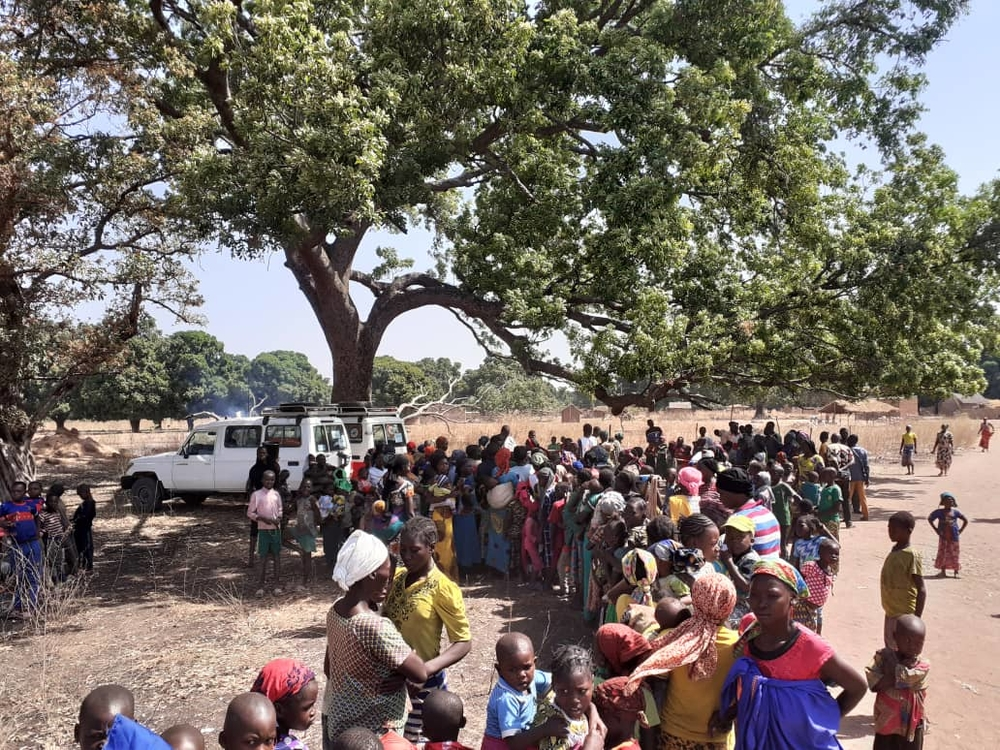 Epidemia de sarampo do Chade na sombra de COVID-19 / Foto por: Julia Sohn